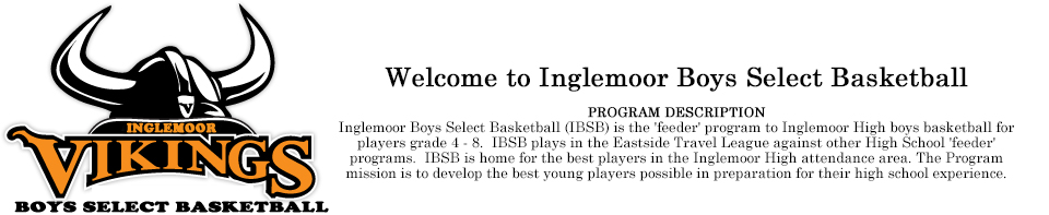 Inglemoor Boys Select Basketball
